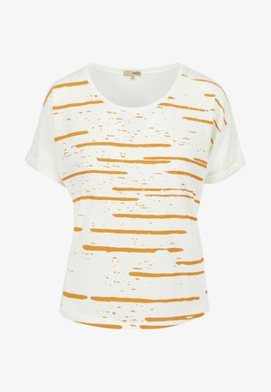 DUZ COMETA - T-shirt print - natural yellow