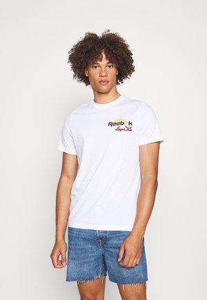 ARABIC TEE - T-shirt imprimé - white