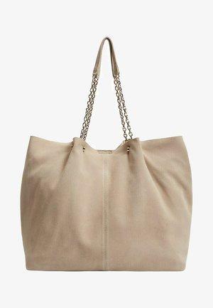 MACINE - Tote bag - sandfarben