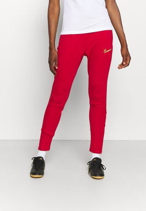 ACADEMY 21 PANT - Teplákové kalhoty - gym red/bright crimson/volt