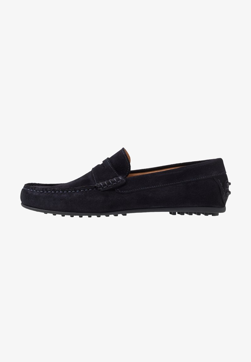 Selected Homme - SLHSERGIO PENNY DRIVE SHOE - Moccasins - dark navy