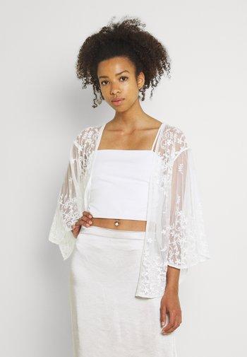 ALICE KIMONO - Summer jacket - white