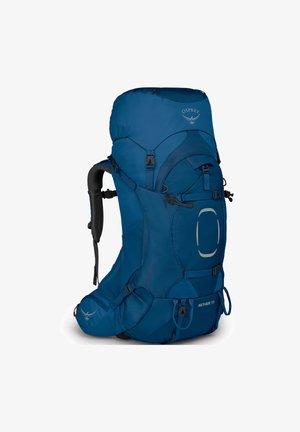 AETHER - Hiking rucksack - deep water blue