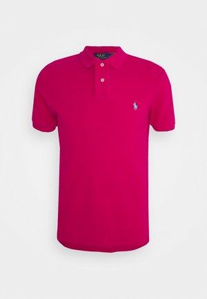 CUSTOM SLIM FIT MESH POLO - Polo shirt - aruba pink