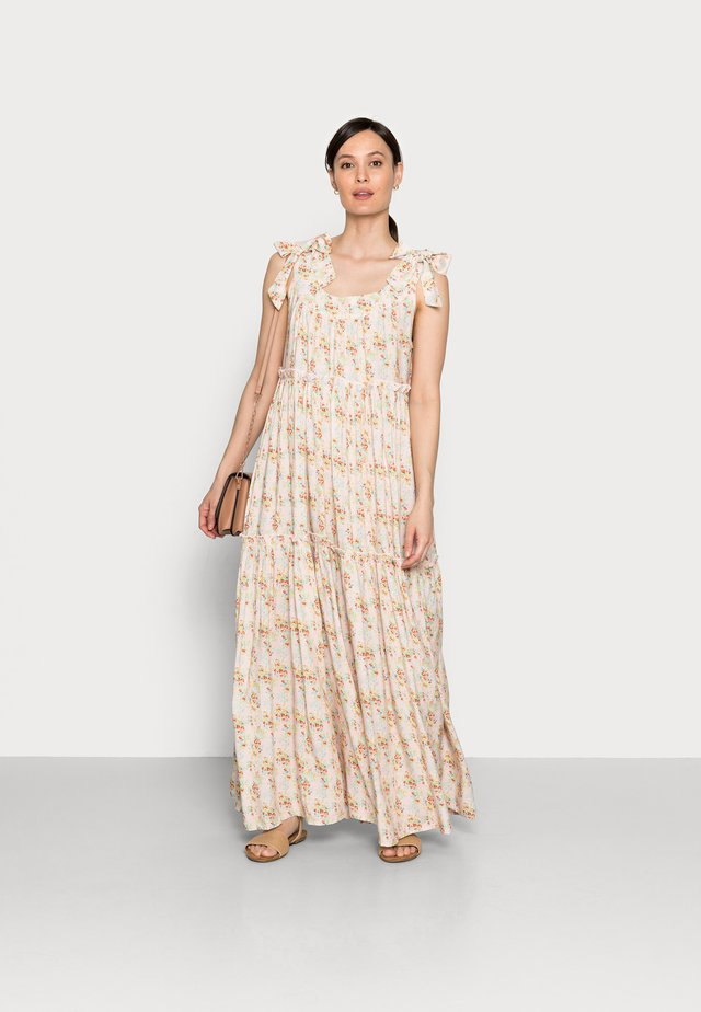 MUNA LONG DRESS - Maxikjoler - cherry flower mix