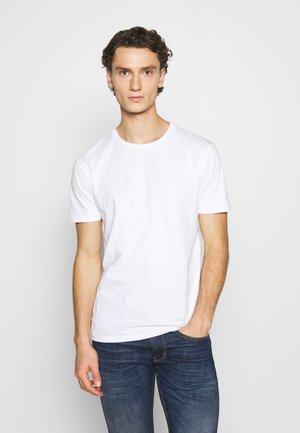 LUKA  - Jednoduché triko - white