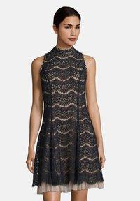 Vera Mont - Cocktail dress / Party dress - dark blue/rosé - 0
