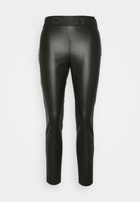 DKNY - PULL ON  - Leggings - Trousers - black - 4