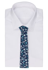 Only & Sons - ONSTBOX TIE & HANKERCHIEF SET - Kapesník do obleku - dark blue/mint - 1
