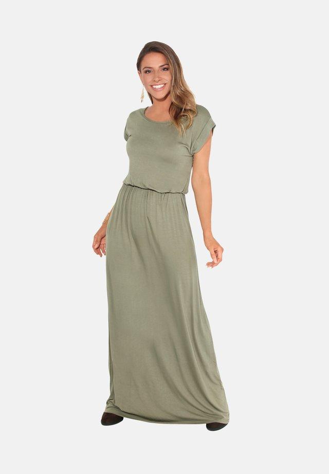 TURN UP - Maxi dress - khaki