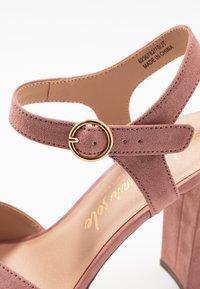 New Look - SANDIEGO - Korolliset sandaalit - light pink - 2