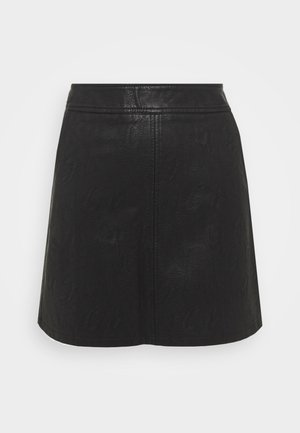 POCKET MINI SKIRT - A-line skirt - black