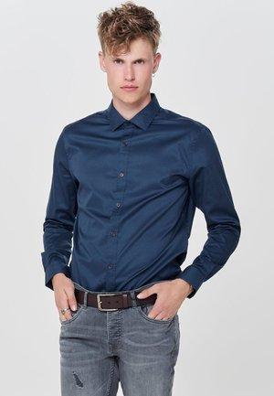 LANGARM - Overhemd - dress blues