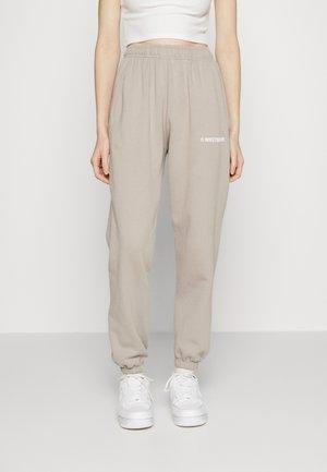DARI PANTS WOMEN - Pantalon de survêtement - silver sand