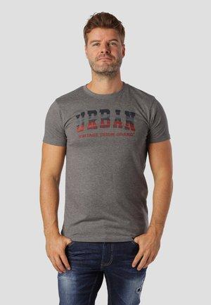 T-shirts med print - grey mix