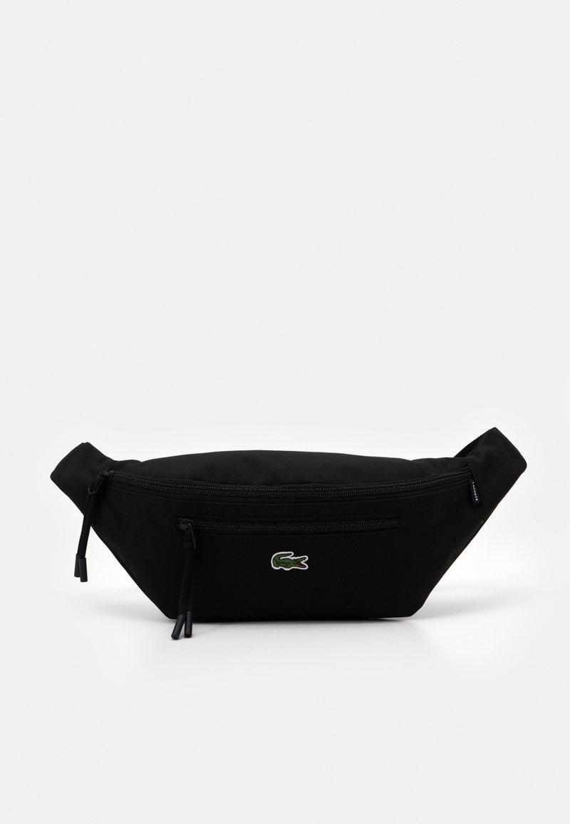 Lacoste - WAIST BAG UNISEX - Bum bag - black