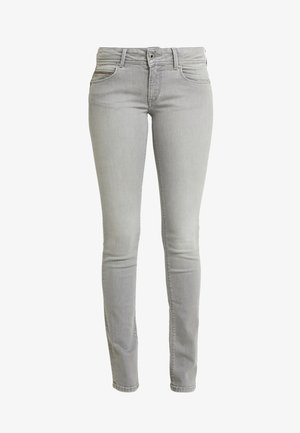 KATHA - Džíny Slim Fit - grey denim