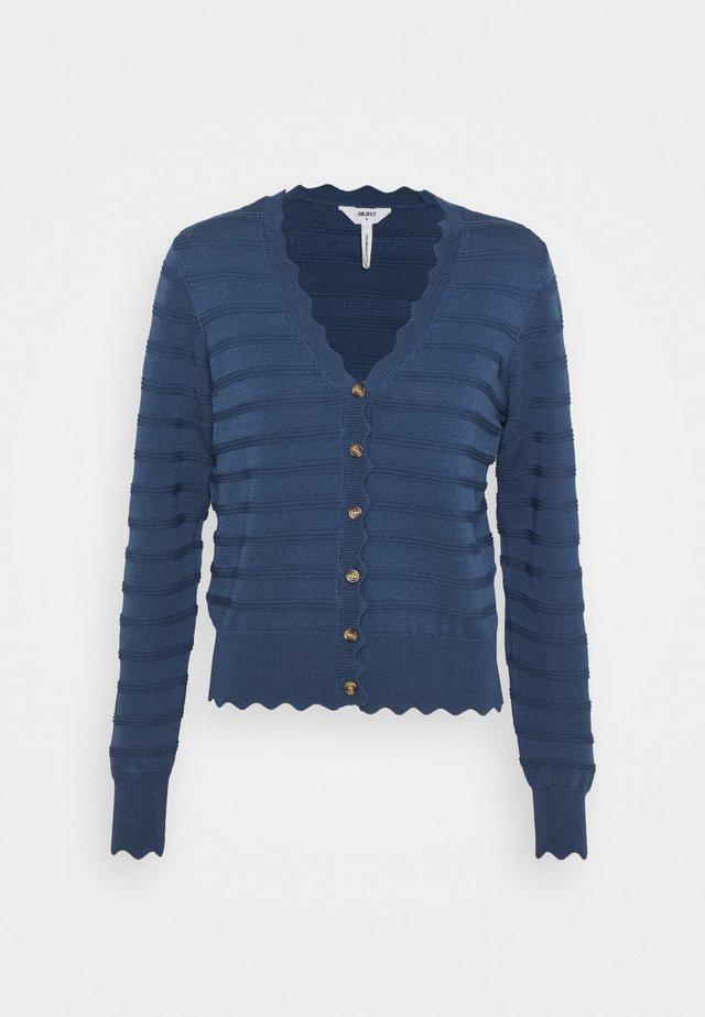 Cardigan - ensign blue