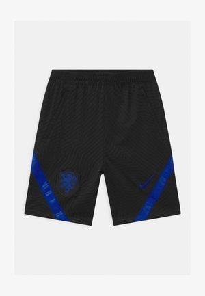 NIEDERLANDE UNISEX - Sports shorts - black/bright blue