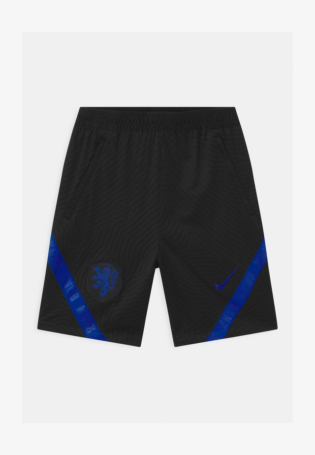 NIEDERLANDE UNISEX - Korte broeken - black/bright blue