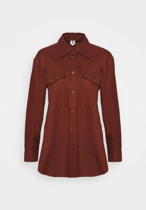Summer jacket - brown medium
