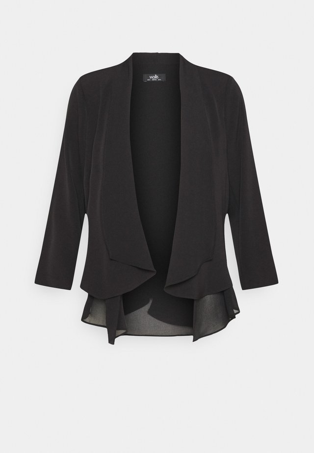 HENNA WATERFALL - Blazer - black