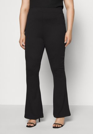 SEMI FLARED - Legginsy - black