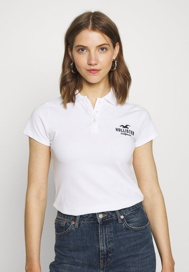 CORE LOGO - Polo - white