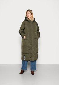 Résumé - ALEXA JACKET - Winter coat - army - 0