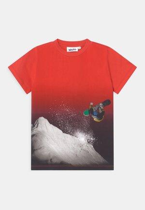 ROAD - T-shirt imprimé - red