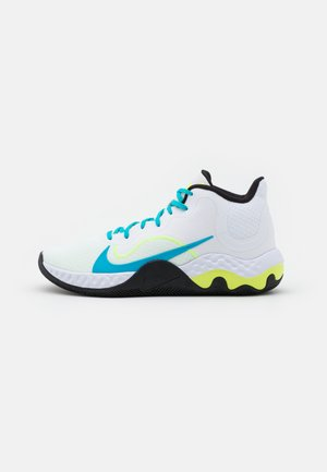 RENEW ELEVATE - Indoorskor - white/light blue fury/black/volt