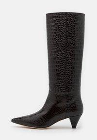 Joseph - Vysoká obuv - cioccolato - 1