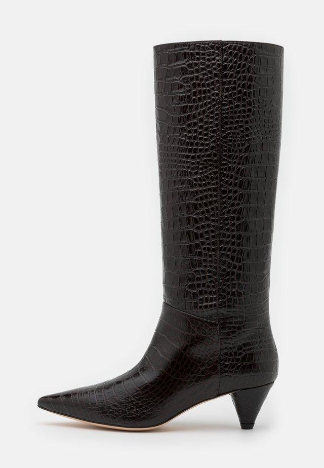 Boots - cioccolato