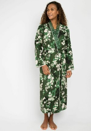 MORGEN MARILYN LEAF - Dressing gown - green leaf print