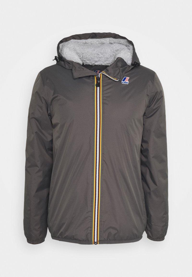 K-Way - UNISEX LE VRAI CLAUDE ORSETTO - Winter jacket - grey smoke