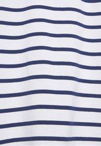 ARKET - Camiseta de manga larga - white/blue - 2