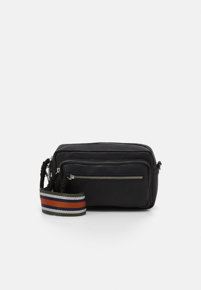 SHEEN MALLY BAG - Across body bag - black
