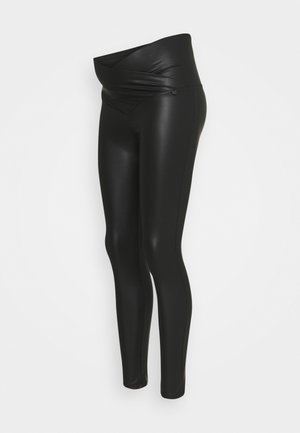 V BELLY - Leggings - black