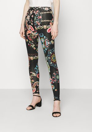 GALACTIC - Leggings - Hosen - black