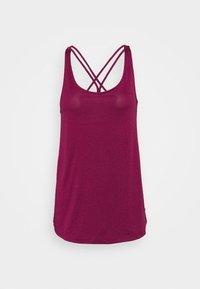 TUNIC TANK - Sports shirt - berry