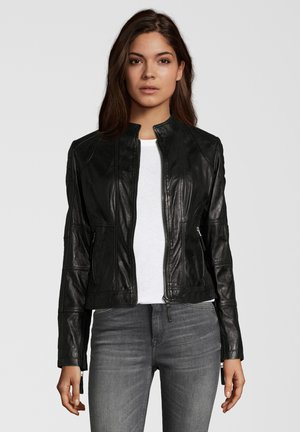 BIGI - Leather jacket - black