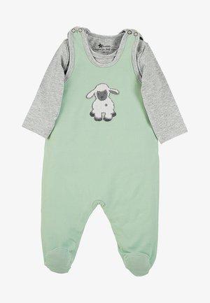 STRAMPLER-SET JERSEY STANLEY - Baby gifts - green