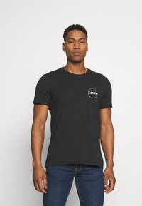 Levi's® - CREWNECK GRAPHIC 2 PACK - T-shirt con stampa - madder brown/caviar - 1