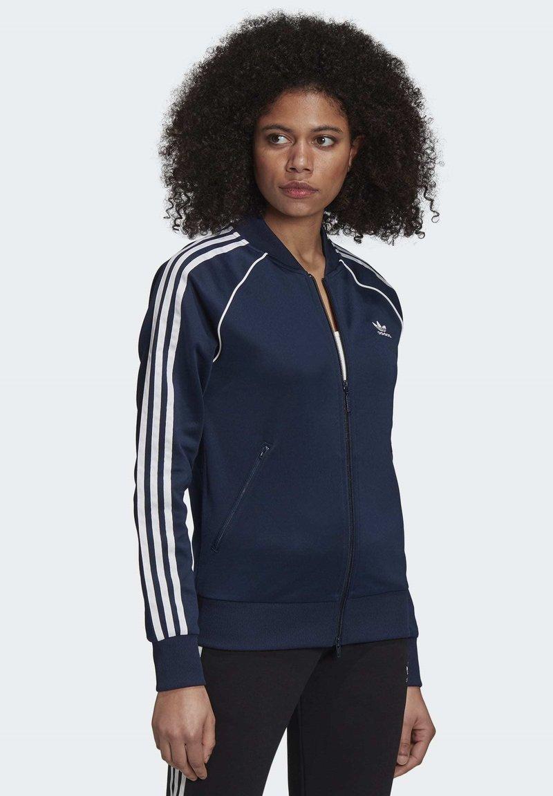 adidas Originals - PRIMEBLUE SST TRACK TOP - Training jacket - blue