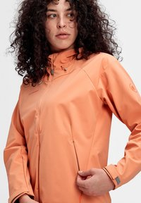 Mammut - SAPUEN  - Soft shell jacket - orange - 2