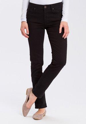 ANYA - Slim fit jeans - black