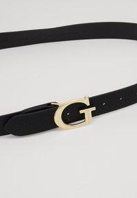 Guess - LILA ADJUSTABLE PANT BELT - Belt - black - 4