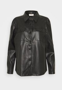 Freequent - Button-down blouse - black - 3