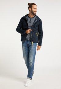 Schmuddelwedda - Light jacket - dunkelmarine melange - 1
