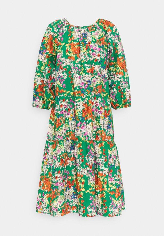 DRESS HEY - Vestito estivo - green/white/multicoloured